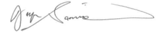 ECE chair signature