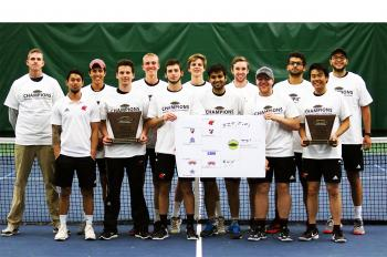 Men's Tennis Aces Test, Earns Illinois Tech's First NCAA Division III Tournament Berth