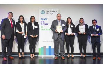 Stuart Team Puts Up Winning Numbers in CFA Institute Research Challenge
