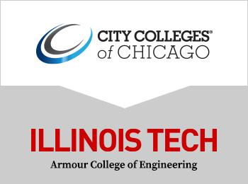 City Colleges of Chicago and Illinois Tech logos