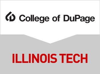 College of DuPage and Illinois Tech logos