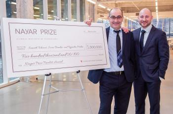 ADEPT Cancer Imager Team Captures Nayar Prize