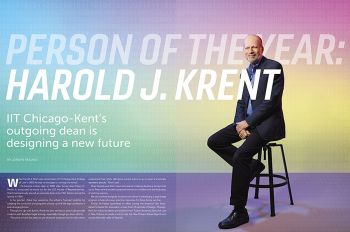 Harold Krent was named person of the year