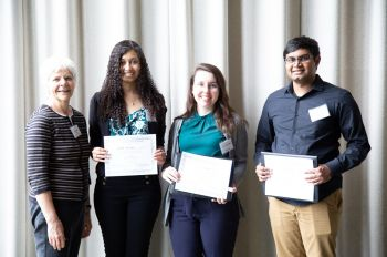 Group photo of Lewis College undergraduate research day winners