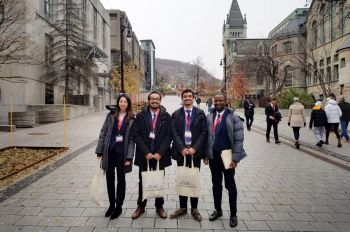 Photo of MIPC team in Montreal