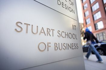 Stuart School of Business signage