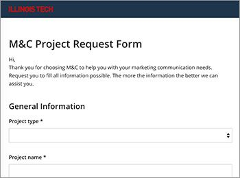 M&C Wrike Project Request Form