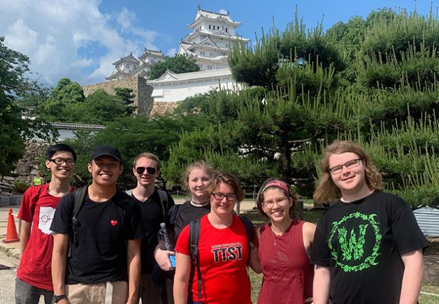 IIT Study Abroad Students in Japan