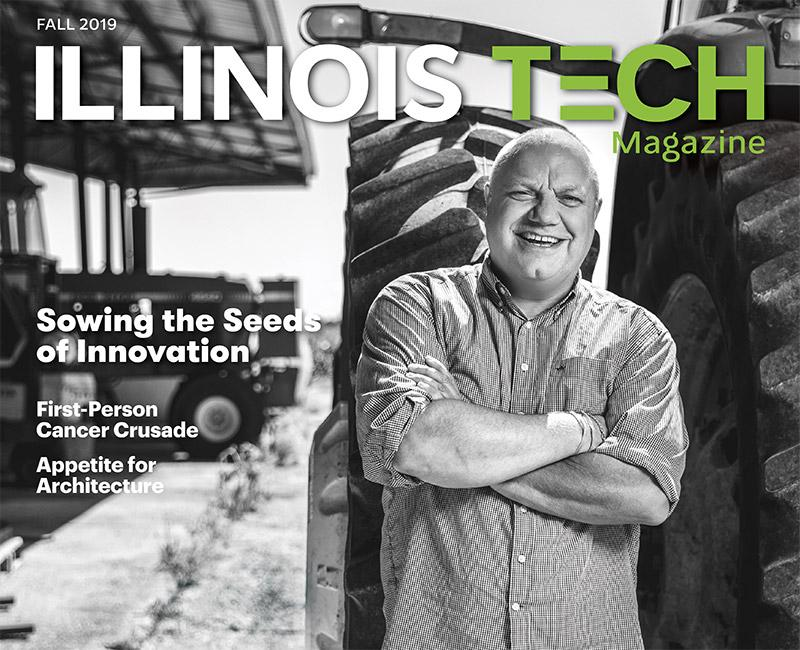 Illinois Tech Magazine Fall 2019 Cover Image