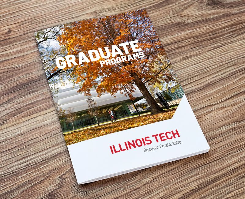 Cover of the Graduate Programs view book for Illinois Tech