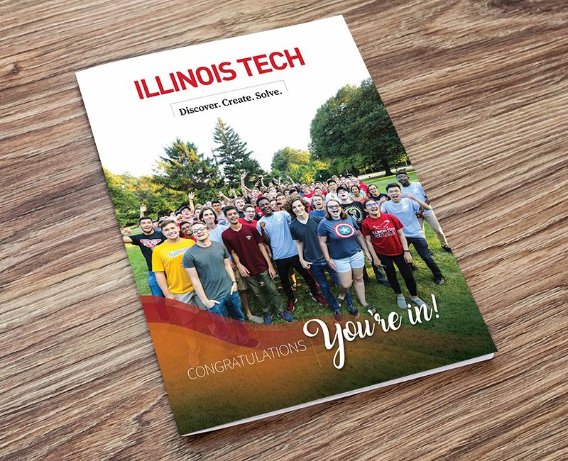 Illinois Tech You're In Brochure cover