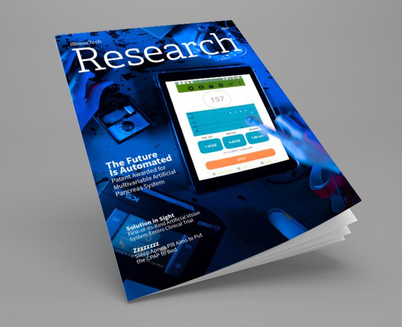 Illinois Tech Research Magazine Fall 2020 Cover